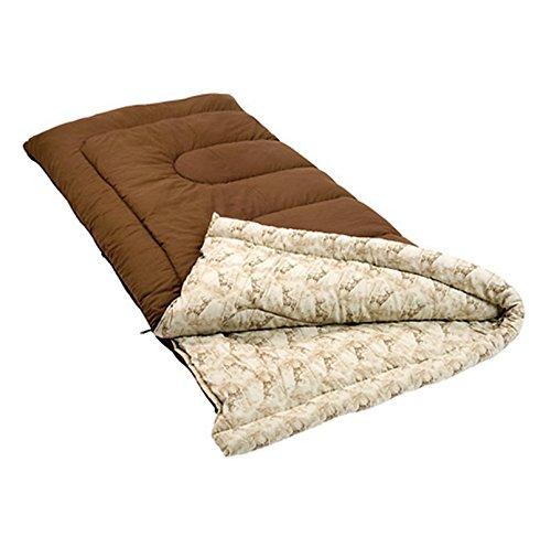 Coleman Autumn Trails 30 Degree Sleeping Bag,Big and Tall, B