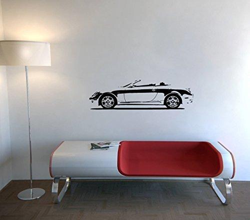 Vinyl Decal Mural Sticker Garage Nice Japanese Luxury Car Autos Lexus Sc430 Roadster A1074