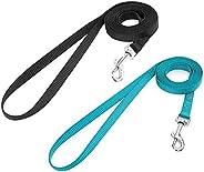 rabbitgoo Small Pet Leash, Cat Walking Long Nylon Dog Leashes, Easy Control Lightweight Durable Kitten Puppy L