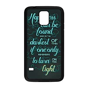 Samsung Galaxy S5 Cell Phone Case Black Harry Potter quotes 007 WH9461390