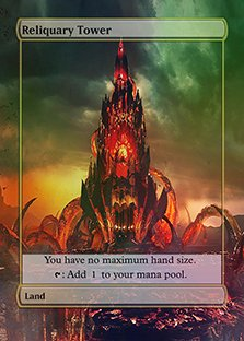 Reliquary Tower - Casual Play Only - Customs Altered Art Foil