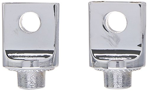 2006-19 Harley-Davidson Motorcycles Chrome Kuryakyn 8883 Non-Pivoting Splined Male Mount Peg Adapters for Front//Rear Footpegs and Floorboards 1 Pair