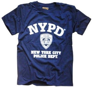 NYPD camiseta azul marino auténtica ropa prendas de vestir producto oficial por el nuevo York departamento de policía de la ciudad: Amazon.es: Ropa y accesorios