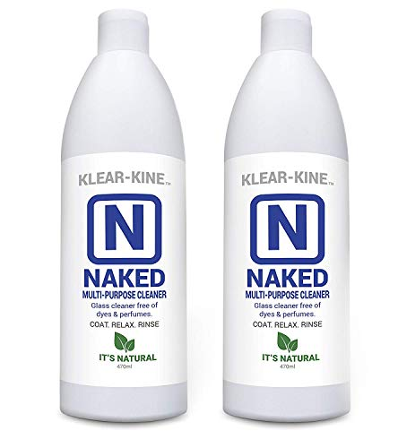 KLEAR-KINE Naked Glass Cleaner | Clay Based Formula | 420 & 710 Remover | 470ml Bottle | 2 Pack ()