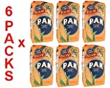 Harina PAN 6 PACK Yellow Corn Meal Flour 6 x 1 Kg Venezuela