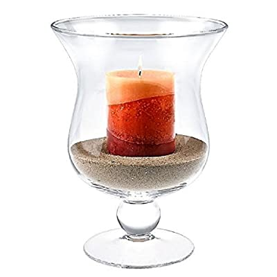 Nature Home Decor Calisto Hurricane Candle Holder Vase