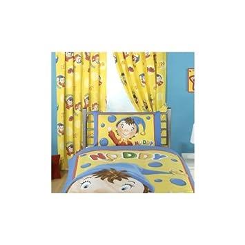 Kids/Childrens Noddy Friends Curtains (66 x 54 inch (170cm x 137cm ...