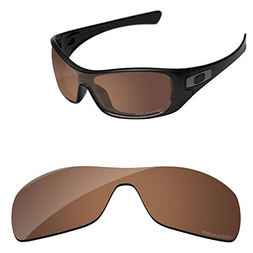 (PapaViva Lenses Replacement for Oakley Antix Copper Brown -)