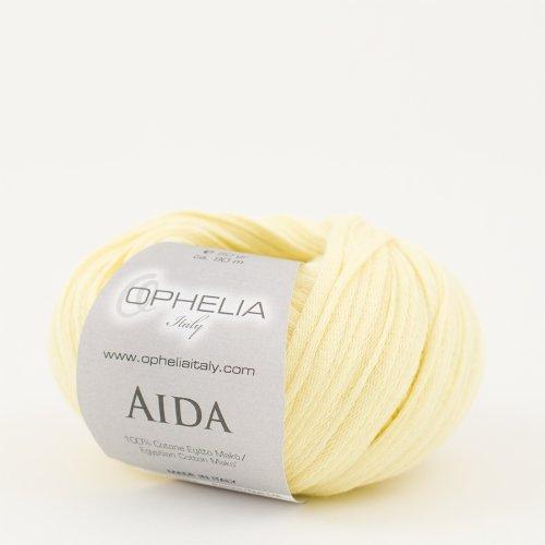 001 Bianco Ophelia Italy Aida Fettuccia cotone 50g fettuccia 5mm 100/% puro cotone egiziano Mak/ò