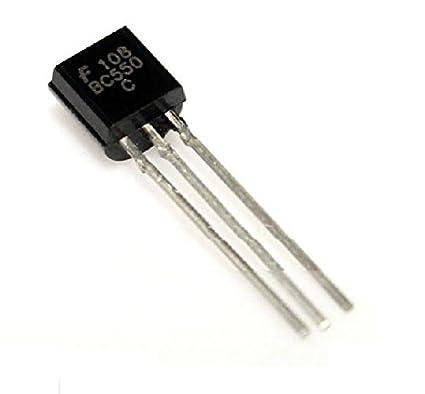 20pcs BC550C NPN Low Signal General Purpose Transistor TO-92 NEW