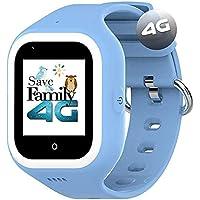 Reloj-Smartwatch 4G Iconic con Videollamada & GPS instantáneo Infantil y Juvenil SaveFamily. WiFi, Bluetooth, cámara…