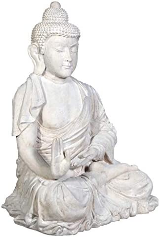 Design Toscano Meditative Buddha of the Grand Temple Garden Statue