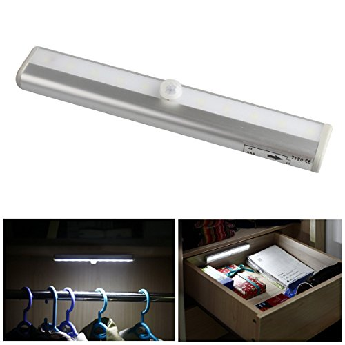 Kootek 174 Msl 03 Under Cabinet 10 Led Light Bar Battery