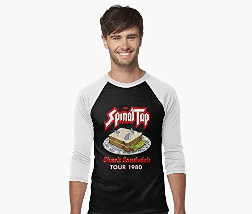 Spinal Tap - Shark Sandwich Tour 1980 Baseball ¾ Sleeve T-Shirt