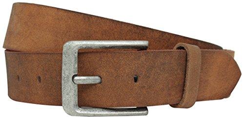 Gusti Gürtel Damen Herren Leder - Lane Ledergürtel Damengürtel Herrengürtel Braun