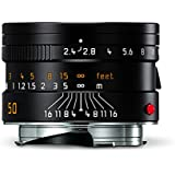 Leica 11680 Summarit-M 50mm/f2.4 Normal Lens, Black