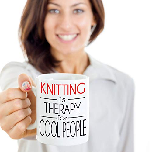 Gift Idea for Knitters Knitter Mug Funny Gift Coffee Gift Idea Tea Cup Kit Pattern