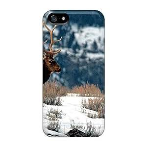 New Hard Cases Premium Iphone 5/5s Skin Cases Covers(winter Elk)