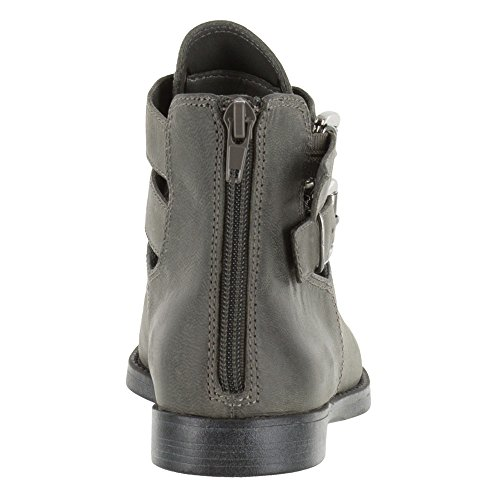 Women's Bootie Ramona Grey Vita Bella Burnished Ankle Leather a51fq