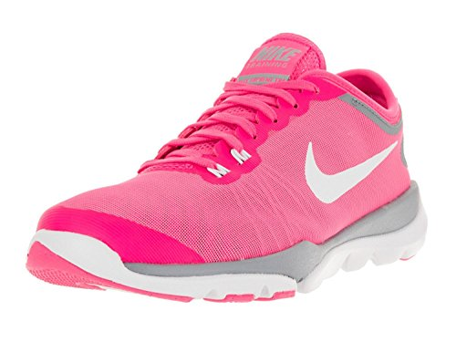 Nike Women's Flex Supreme TR 4 Cross Trainer, Rosa/Bianco (Pink Blast/Stealth/Hyper Pink/White), 40.5 B(M) EU/6.5 B(M) UK