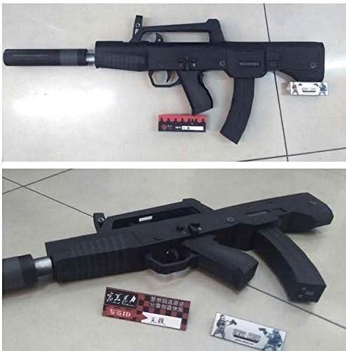 ペーパークラフト 高級防水紙 05式短機関銃 QCW05 PRC アサルトライフル