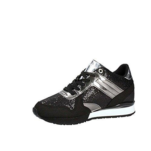 Femme Noir Sport Tommy De D'extérieur Noir Pour Chaussures argent 40 Noir Hilfiger noir nWnSY