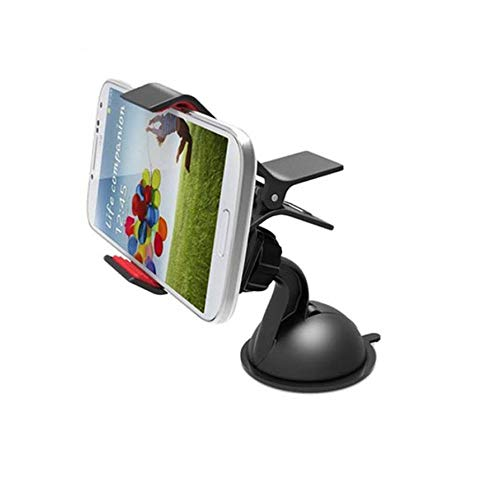 Sument Car Mobile Holder for Windshield, Dashboard  Small Black