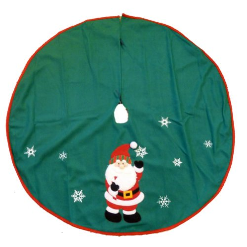 Felt Santa Christmas Tree Skirt