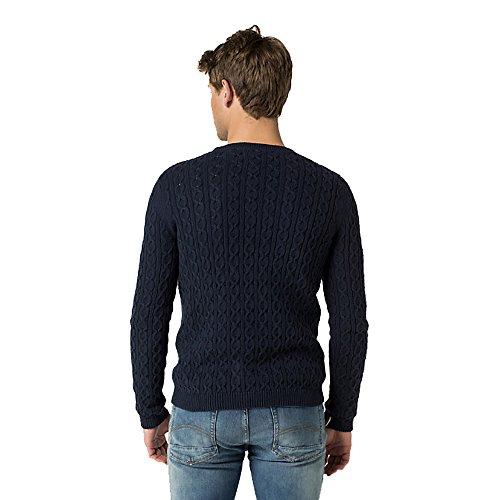 Tommy Hilfiger Herren Pullover blau blau