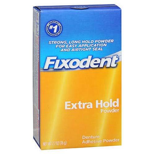 Fixodent 義歯接着剤パウダーが余分な2.70オズ(2パック)をホールド 2パック B00IMW0BUC  2パック