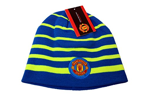 Manchester United FC Authentic Official Licensed Product Soccer Beanie - 001 by RHINOXGROUP