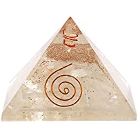 Aatm Energy Generator Selenite Orgone Pyramid for EMF