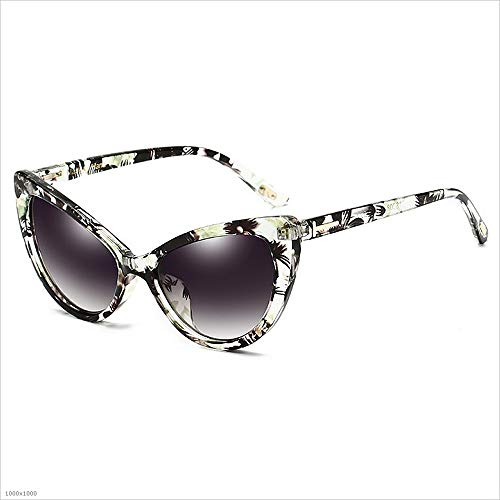 de Gafas sol de la con de Gafas de marco sol de PC de personalidad estilo de clásico conducción borde Gafas Gafas sol de sol de Verde protección de UV retro de 100 protección de sol Gafas UV Polarizado wOx17qU7Sg