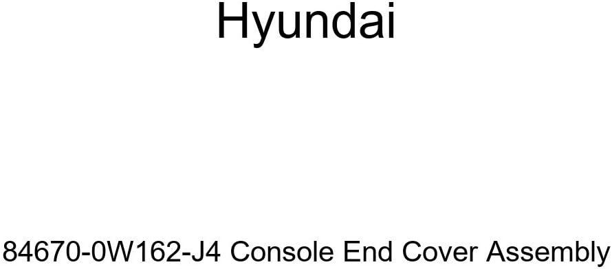 Genuine Hyundai 84670-0W162-J4 Console End Cover Assembly