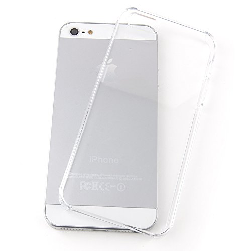 QUADOCTA iPhone SE Ultra Slim Case - Schutzhülle - Crystal in transparent - Ultra dünne iPhone Hülle - transparentes Case