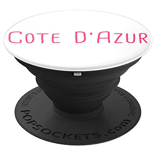 Cote d'Azur French Riviera Nice Cannes Antibes France Gift PopSockets Grip and Stand for Phones and Tablets