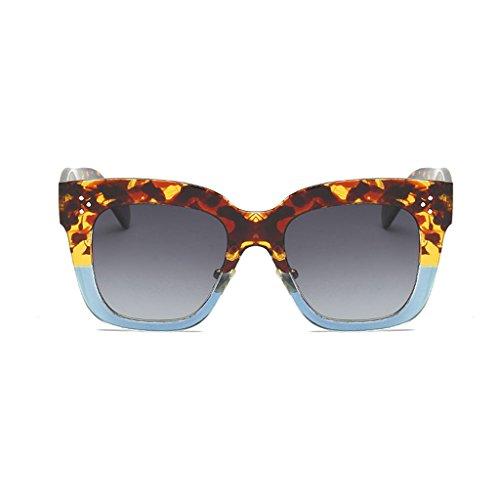 UV personnalité C1 Soleil Ai Soleil Lunettes Miroir Anti Vintage de de polarisées Mode Couleur Soleil lele lumière visière Lunettes C3 Rue Pilote Cqtt7R4U