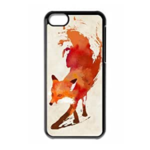 Customized Dual-Protective Case for Iphone 5C, Vulpes vulpes Cover Case - HL-R675622