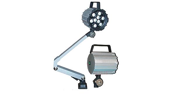 Lathe lamp///W 24 V 220 V Magnetic Base Machine lamp Soft Pole Aluminum high Power LED//CNC Machine lamp Work Table lamp Magnet installation-220V