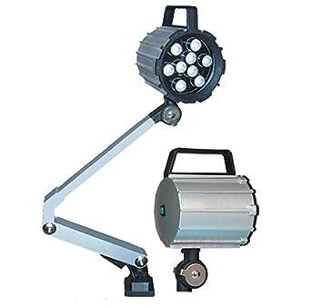 Amazon.com: 10 W/24 V Brazo Largo LED máquina herramienta ...