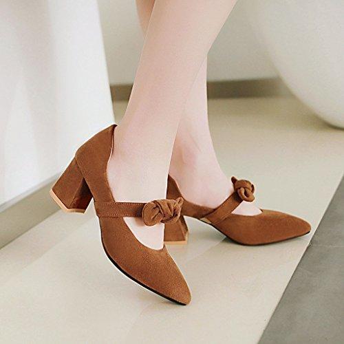 los A zapatos la primavera luz la luz femeninos el la con tamaño de singles yellow SqpRvwS