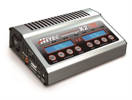 Hitec RCD 44239 X2 DC Dual Port Charger with 700W Per Channel