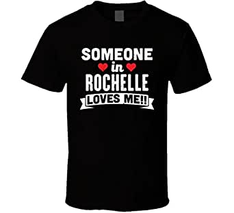 someone in rochelle georgia loves me funny cool city t shirt clothing. Black Bedroom Furniture Sets. Home Design Ideas