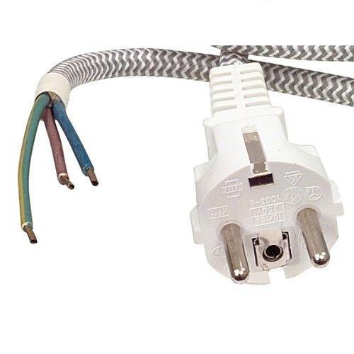 Cable de alimentacion para Plancha 3 Metros, Cablepelado
