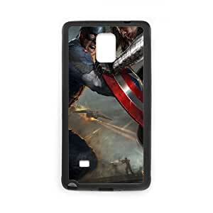 Captain America Samsung Galaxy Note 4 Cell Phone Case Black as a gift P4812834