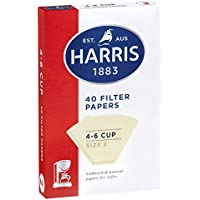 Harris Filter Papers 4-6 Cup 40 Papers 10 Pack, 10 packs x 40 Papers