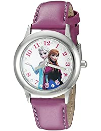 Infinity Kids' W002503 Frozen  Elsa & Anna Analog Display Analog Quartz Purple Watch