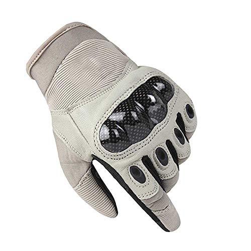 Mens Army Gear Tactical Full Finger Combat Military Militar Carbon Antiskid Shooting Paintball Gloves