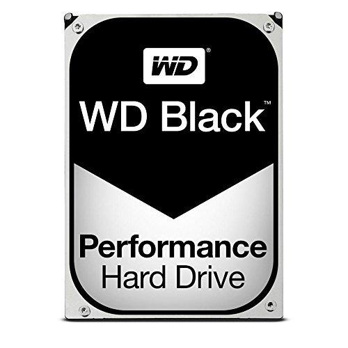 WD 1TB Black Performance Internal Hard Drive 7200 rpm SATA III 3.5'' HDD by Western Digital