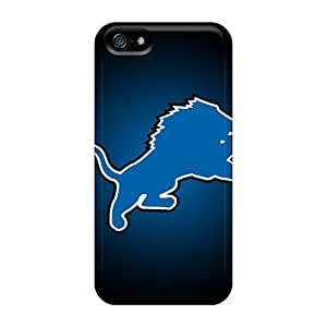 New Style Dmucase Detroit Lions Premium Tpu Cover Case For Iphone 5/5s